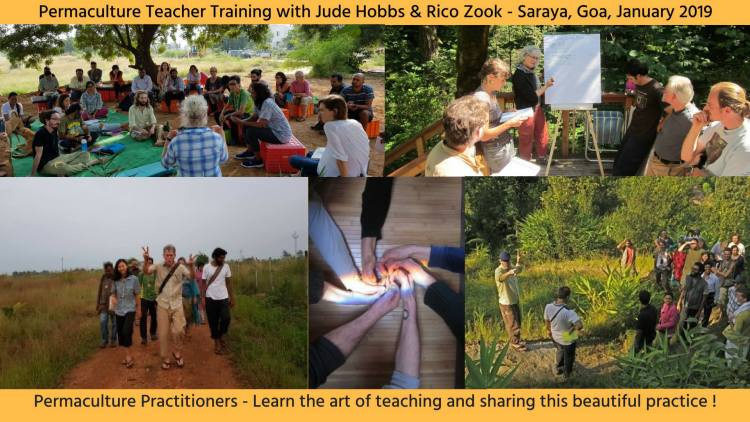 Photos from Permaculture Teacher Training in India