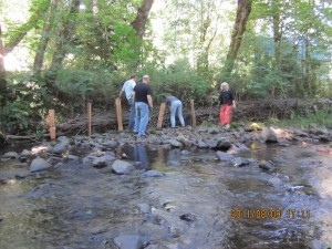 creek restoration during TT '11